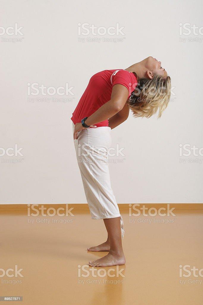 Pilates I stock photo