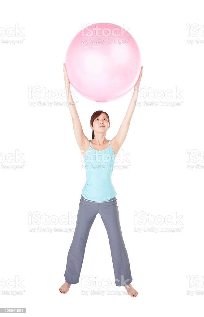 Pilates-Methode Lizenzfreies stock-foto