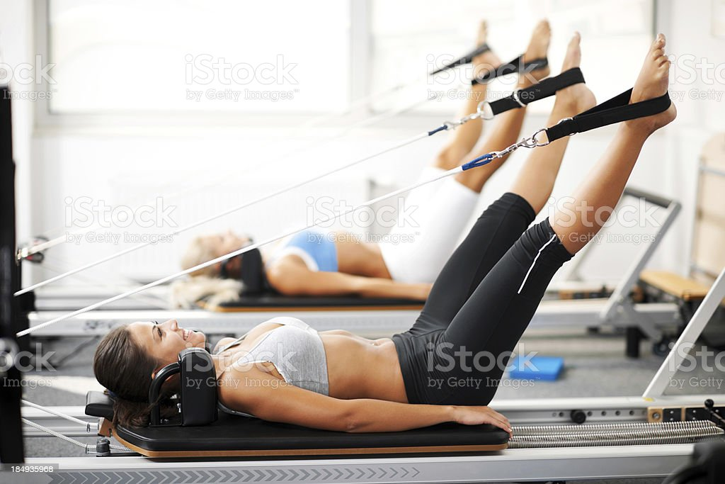 Pilates. stock photo