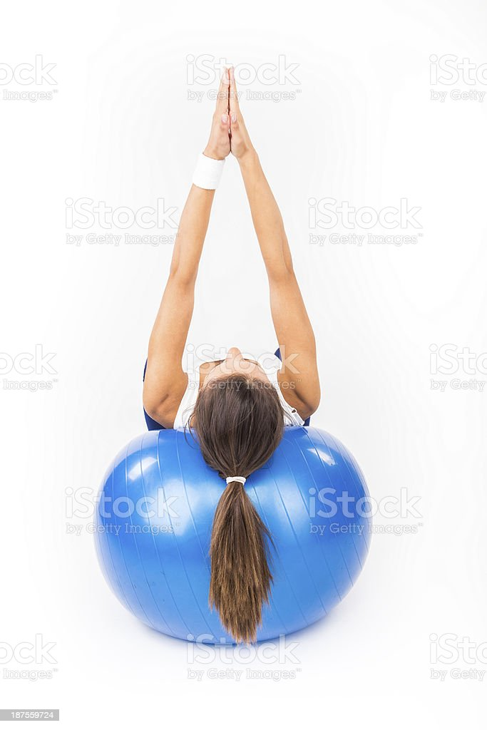 Pilates royalty-free stock photo