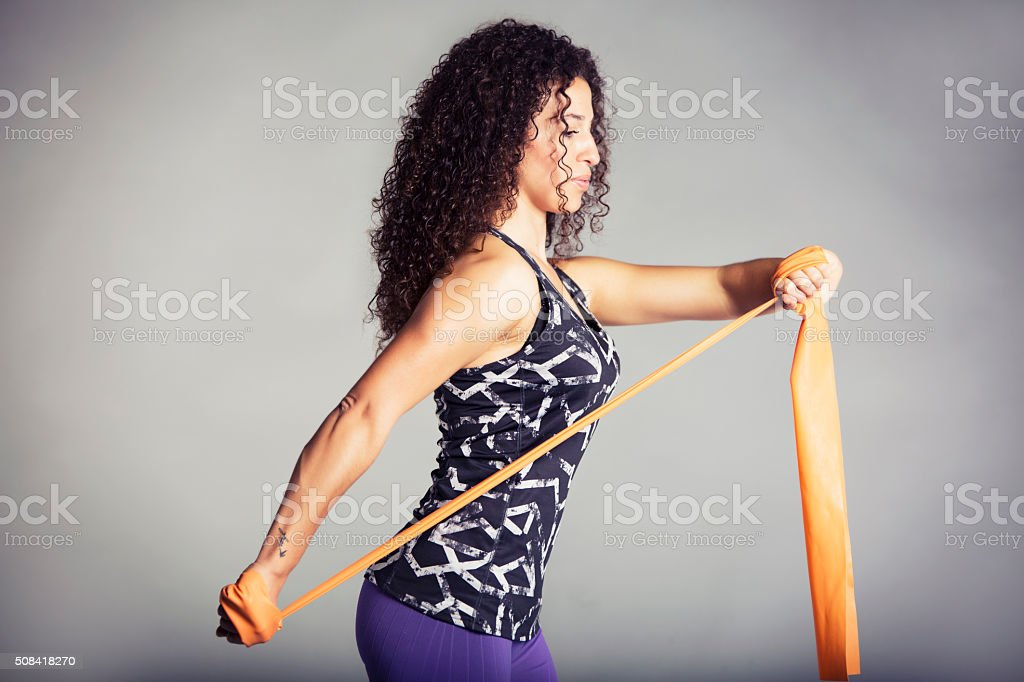 Pilates stock photo
