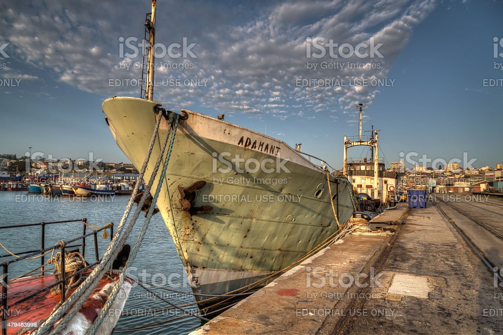 Pilchard Vessel stock photo