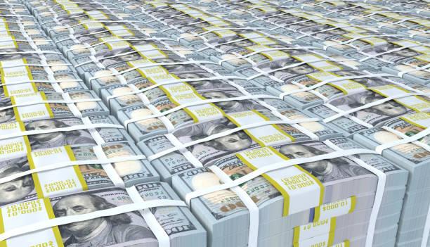 stos dolara amerykańskiego - duża grupa obiektów zdjęcia i obrazy z banku zdjęć