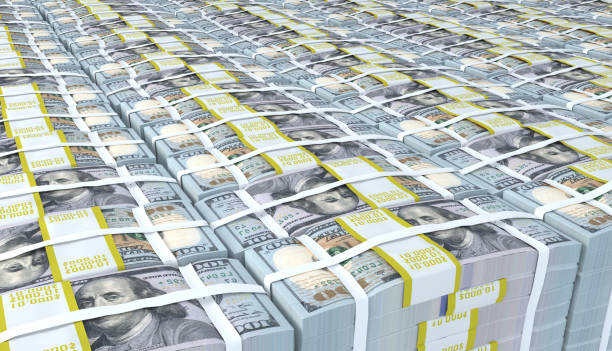 Pile of American money dollar Pile of American money dollar millionnaire stock pictures, royalty-free photos & images