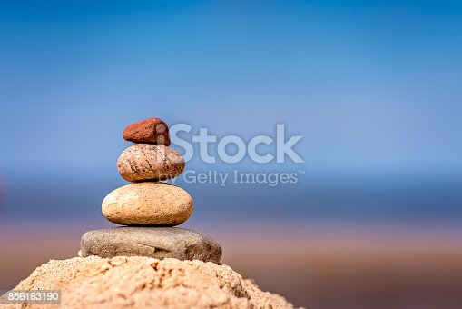 186803914 istock photo Pile of balanced stones 856163190