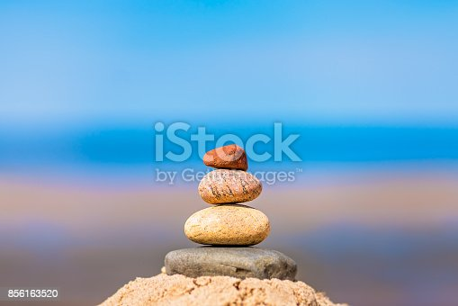 186803914 istock photo Pile of balanced stones 856163520