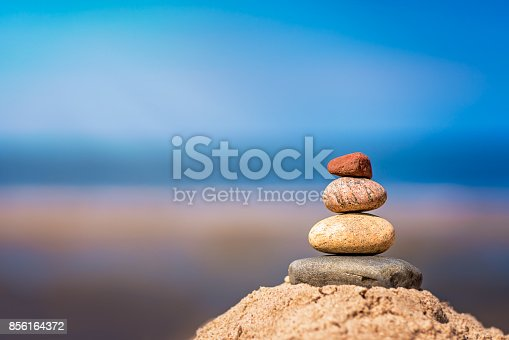 186803914 istock photo Pile of balanced stones 856164372