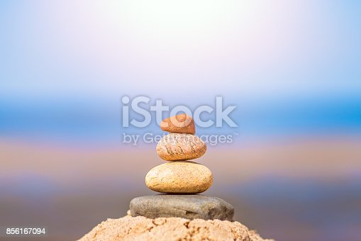 186803914 istock photo Pile of balanced stones 856167094