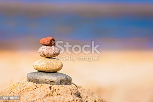 186803914 istock photo Pile of balanced stones 856168984