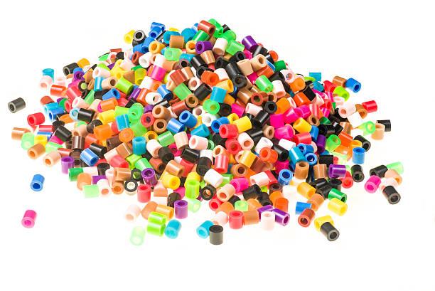 Pile of beads stock photo