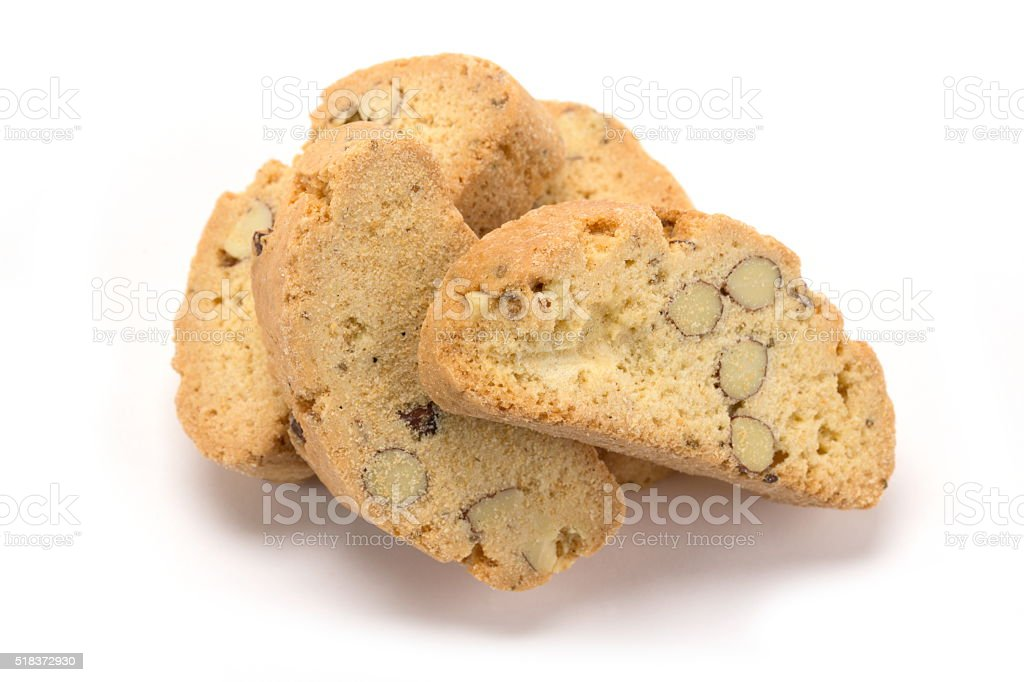 Pile of Biscotti stock photo