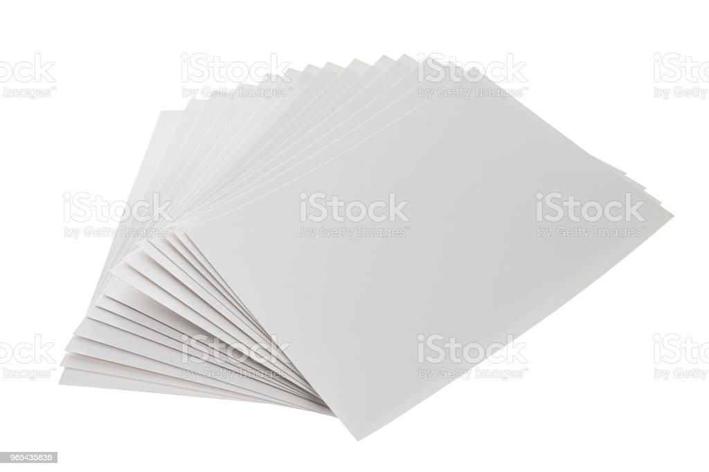 Pile of Blank Photo Frames royalty-free stock photo