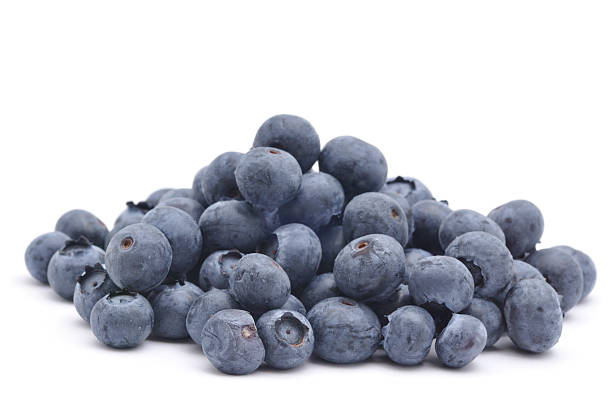 pile of blueberries - blueberry stock pictures, royalty-free photos & images