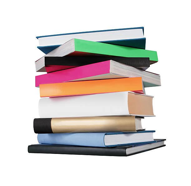 pilha de livros - brochura - fotografias e filmes do acervo