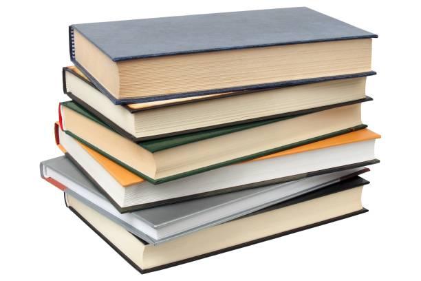 pile of books - empilé photos et images de collection