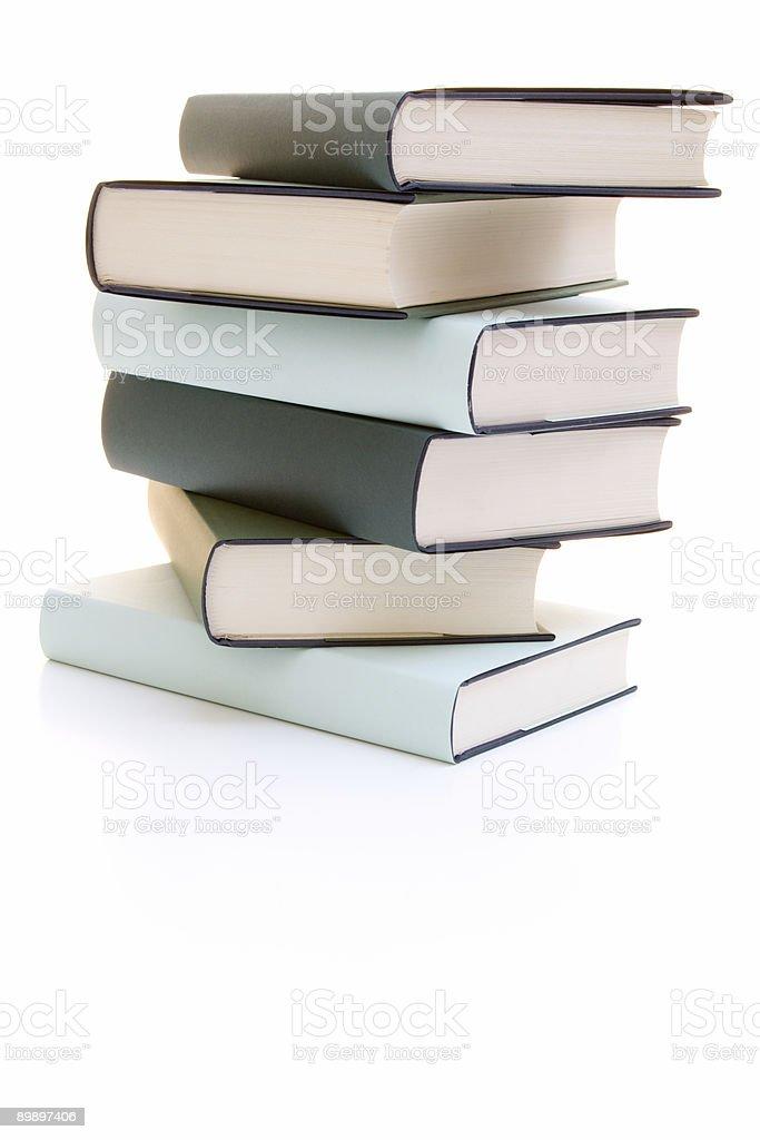 Pila de libros foto de stock libre de derechos