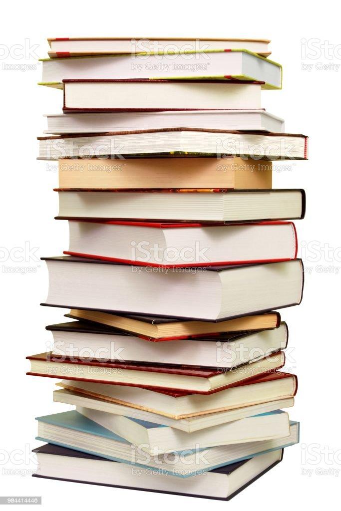 Pila de libros - foto de stock