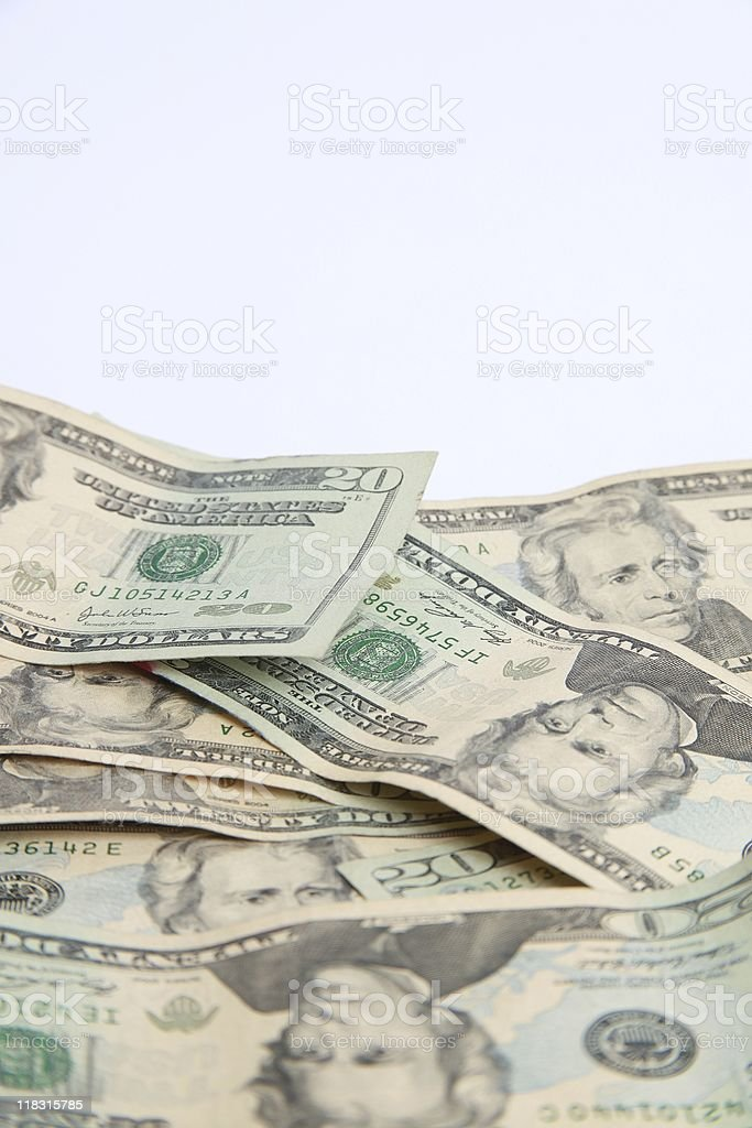 Pile of Cash royalty-free stock photo