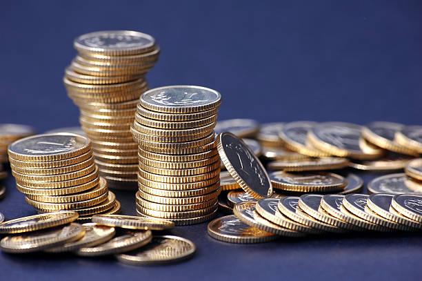 Haufen von Münzen – Foto