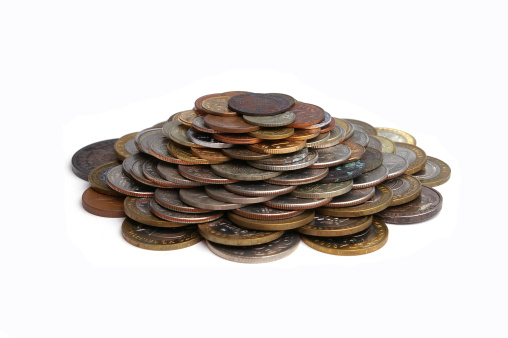 Pile Of Coins Stock Photo - Download Image Now