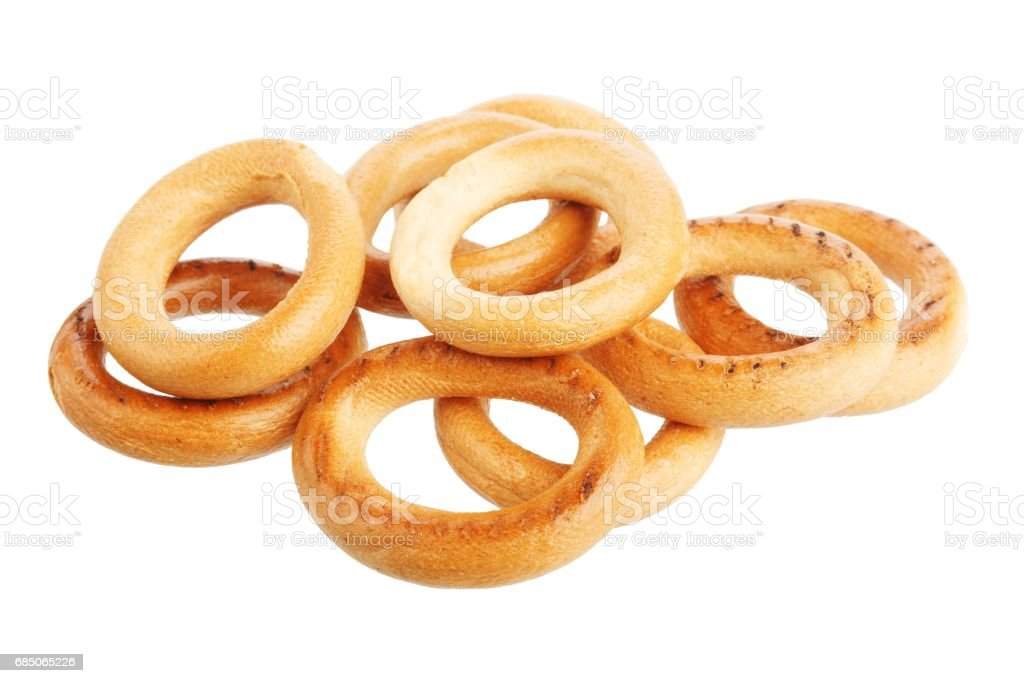 Pile of delicious donuts royalty-free stock photo
