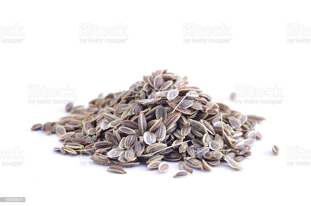Pile of Dill stock photo