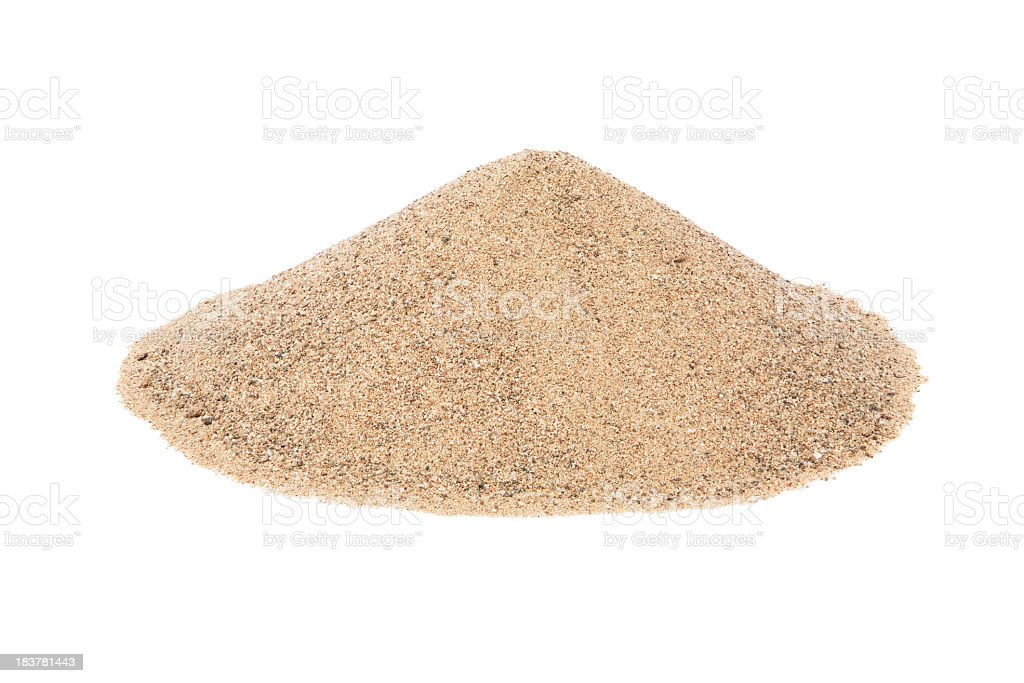 Royalty Free Sand Pile...