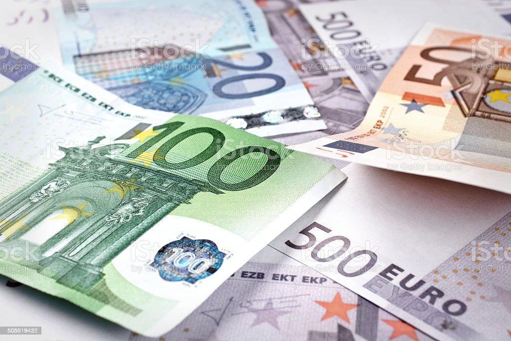 Pile de billets de euros - Photo