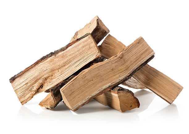 Pile of firewood Pile of firewood isolated on a white background log stock pictures, royalty-free photos & images