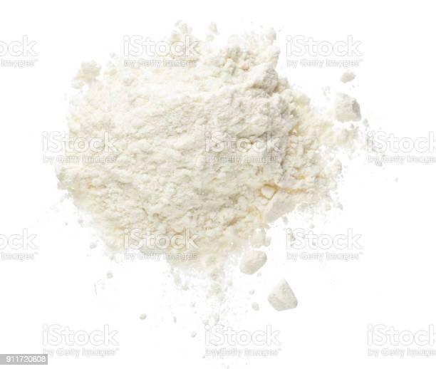 Pile of flour isolated on white background top view flat lay picture id911720608?b=1&k=6&m=911720608&s=612x612&h=o41tbky fx97fvt mqwdmgxdrn6vgptnqvjohx2od6i=