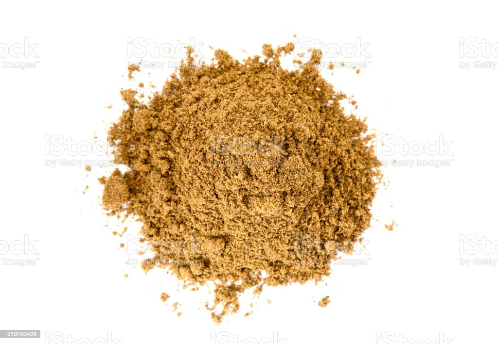 Pile of Garam Masala stock photo