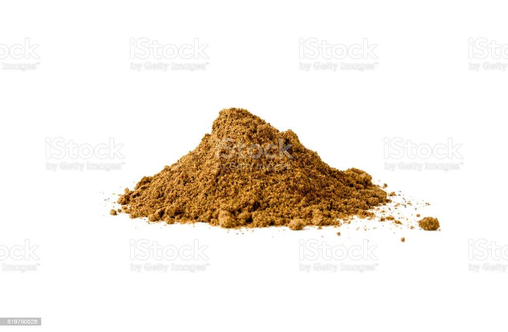 Pile of Garam Masala stock photo