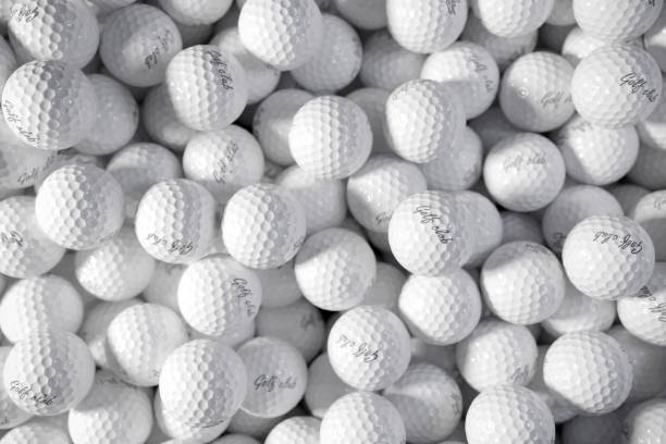 Pile of golf balls. 3d concept. Pile of golf balls. 3d concept. golf ball stock pictures, royalty-free photos & images