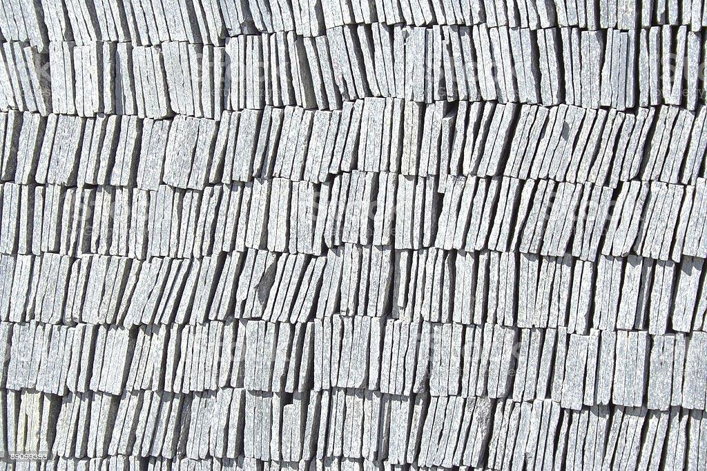 Pila de Granites foto de stock libre de derechos
