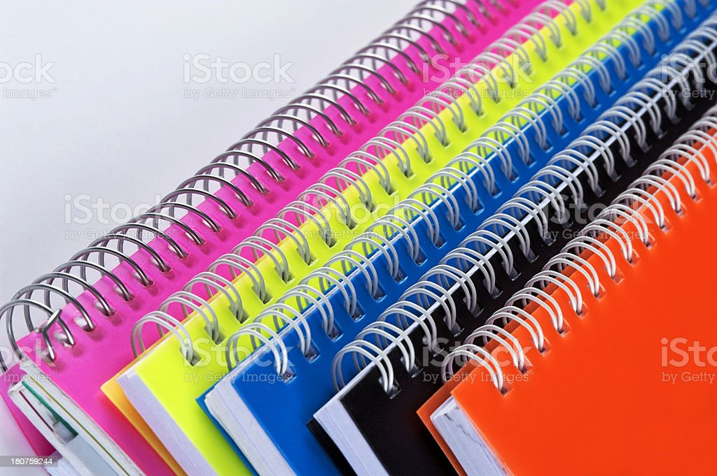 Pile of handouts royalty-free stock photo