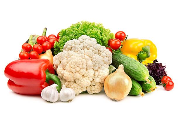 Satz von Gemüse – Foto