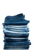 istock Pile of Jeans 183579377