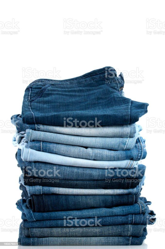 Haufen von Jeans – Foto