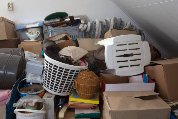 Pile of junk in a house, hoarder room pile of household equipment needs clearing out Pile of junk in a house, hoarder room pile of household equipment needs clearing out storage manufactured object stock pictures, royalty-free photos & images
