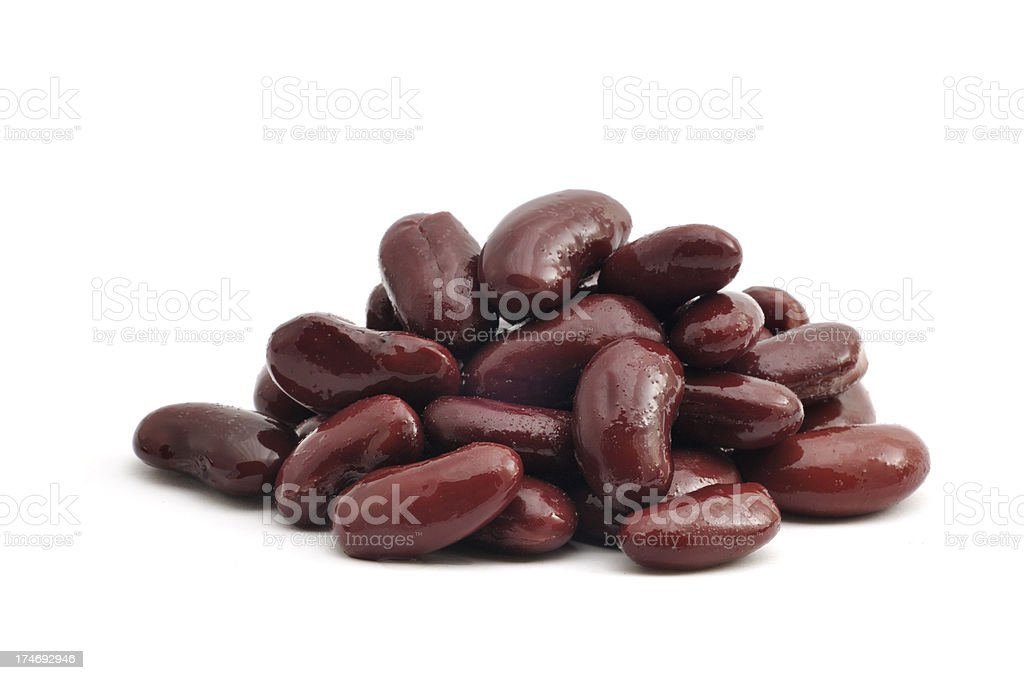 Pile of Kidney Beans stock photo