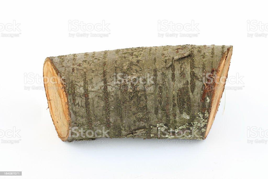 Pile of log royalty-free stock photo