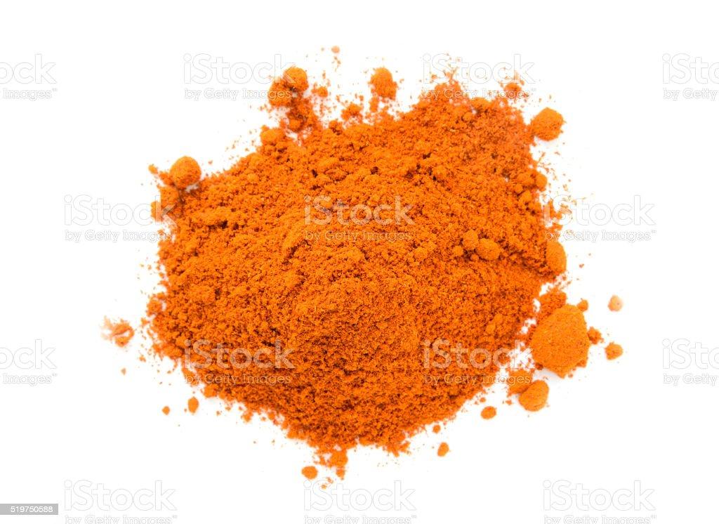 Pile of Masala Powder stock photo