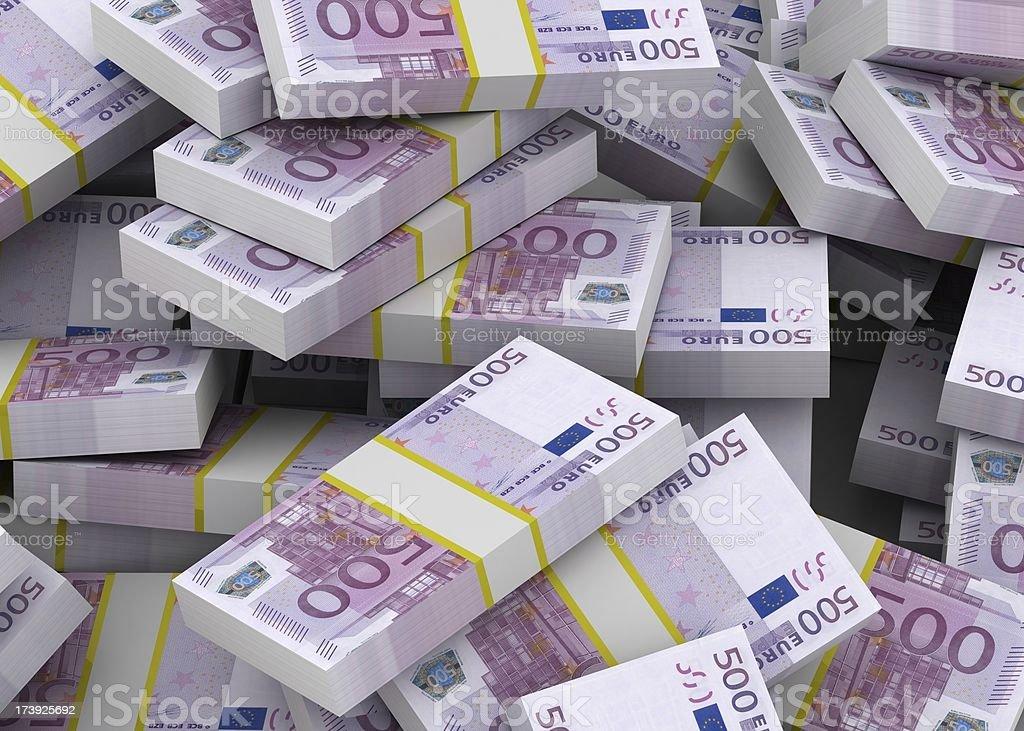 Pile of Money stock photo