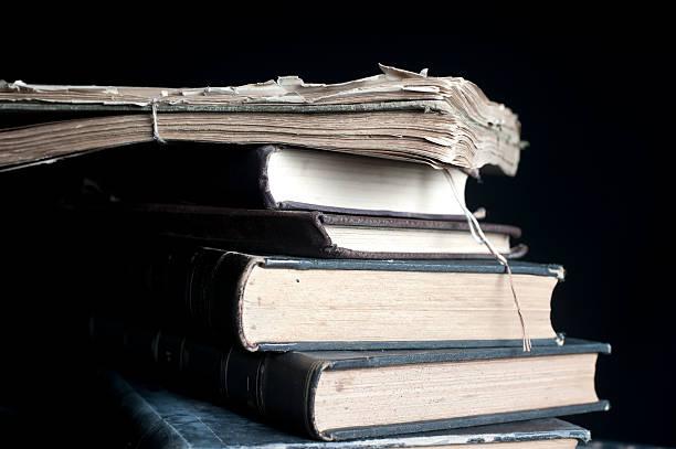 Haufen von alten Bücher – Foto