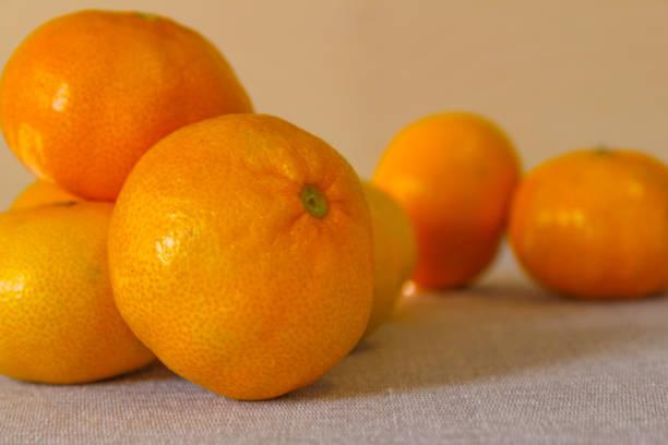 Pile of oranges stock photo