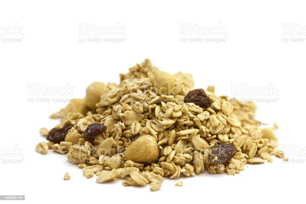 Pile of Organic Cereal royalty-free stock photo