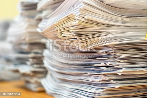 istock pile of paper documents in the office 1078157264