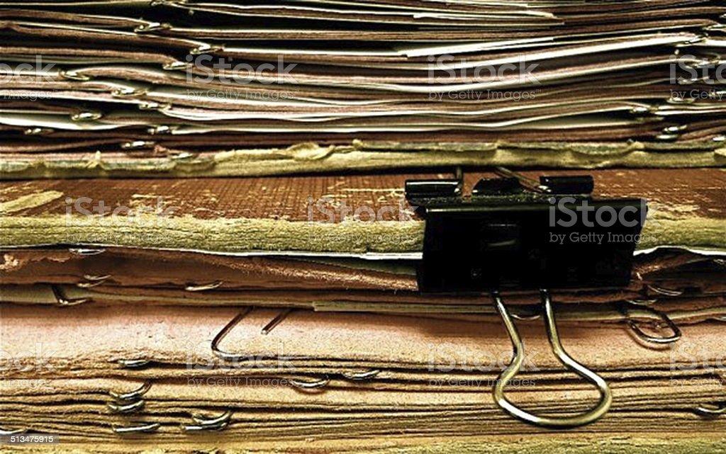 Haufen Zeitungen – Foto
