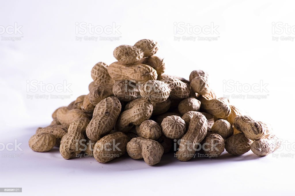 Pila de peanuts foto de stock libre de derechos