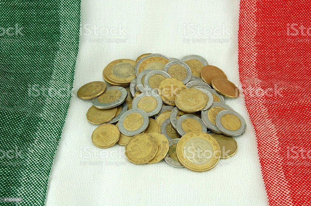 Pila de Pesos - foto de stock